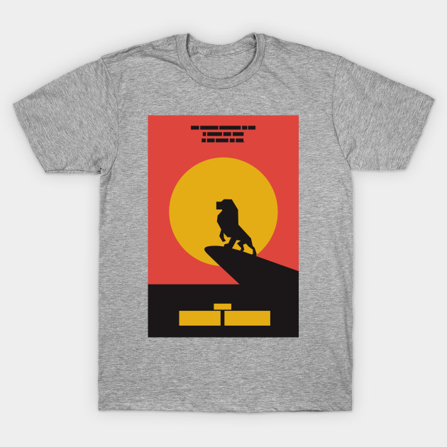 32040e64b The Lion King Simple - Lion King - T-Shirt | TeePublic