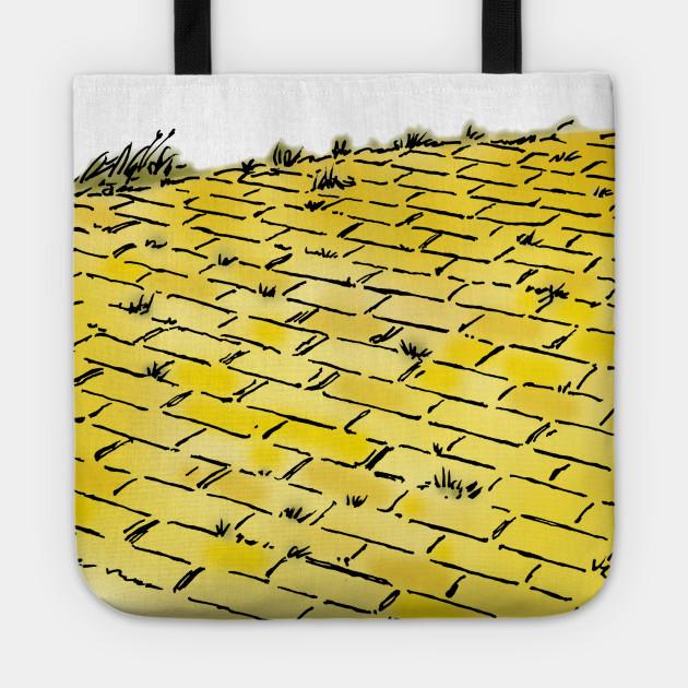 Vintage Wizard of Oz Yellow Brick Road