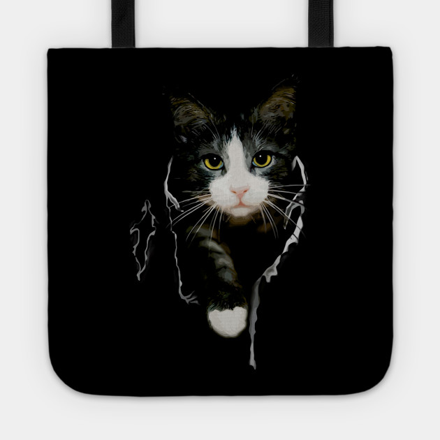 Cat Lover T Shirt Tote
