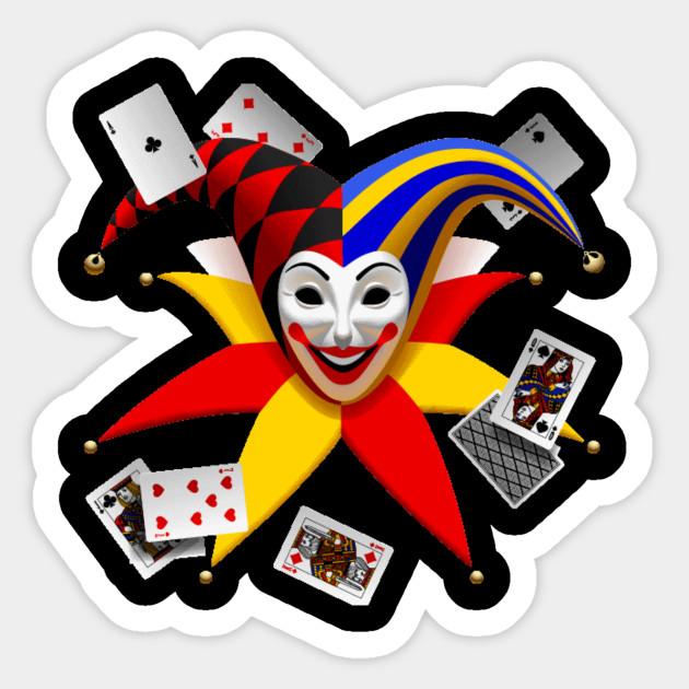 Halloween Joker Card.Joker Tshirt Face Cards Playing Halloween Costume Poker Gift