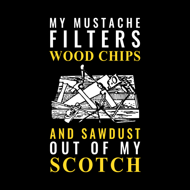 Mustache and Scotch Woodworking