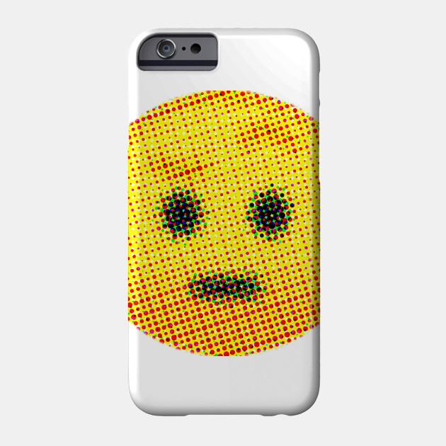 Emoji Suspicious Face With Raised Eyebrow Emojis Phone Case