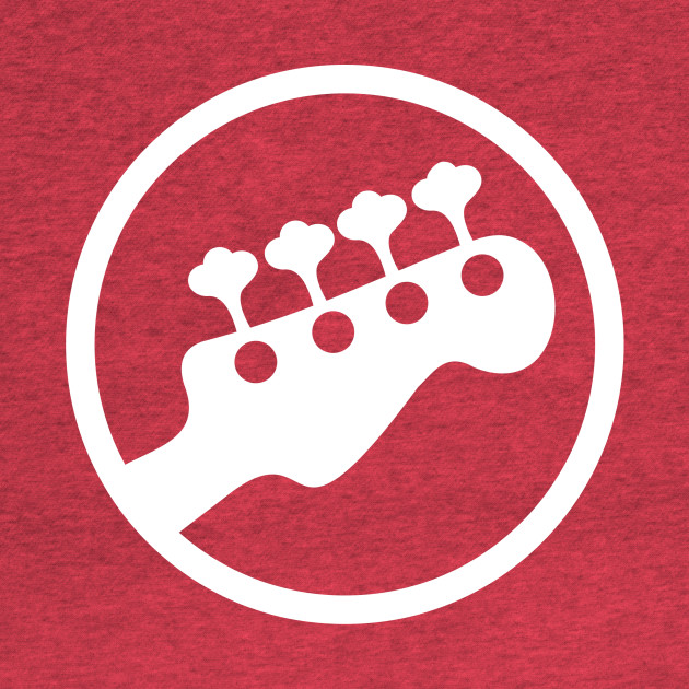 Scott Pilgrim vs. The World Rock Band Instrument Symbol - Bass