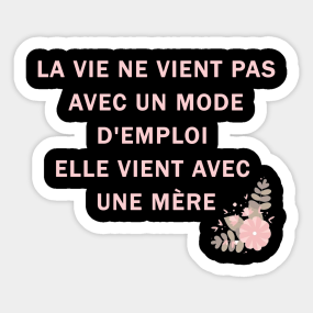 Maman Stickers Teepublic Au