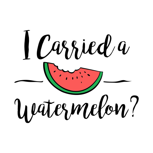 dirty dancing i carried a watermelon