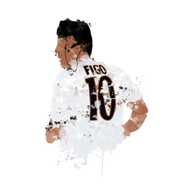 Luis Figo - Real Madrid Legend