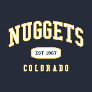 on sale 1dc8a bfe1e Denver Nuggets T-Shirts | TeePublic