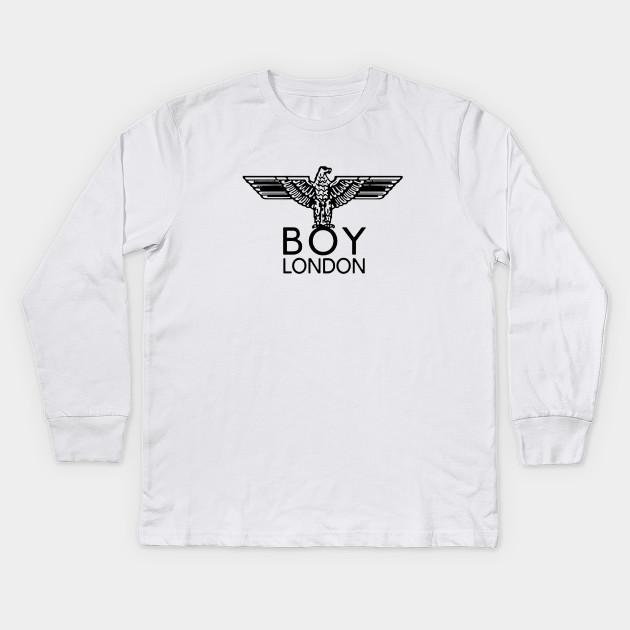 1b8ef887c boy london - Boy London - Kids Long Sleeve T-Shirt | TeePublic