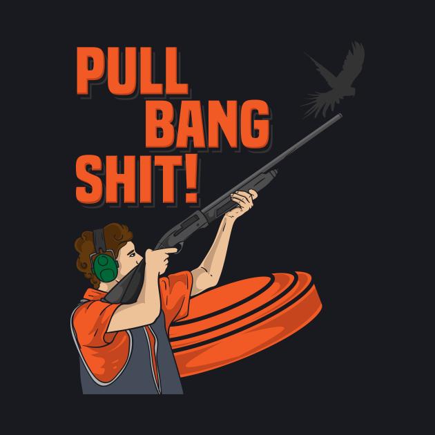 Pull Bang Shirt Clay Pigeon Shooting Gift