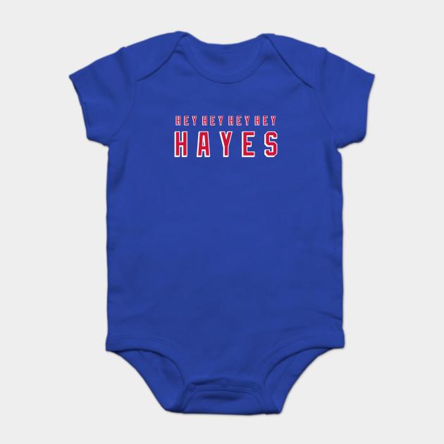 Hey Hey Hey Hey Hayes - Ny Rangers - Onesie  6af0dc9fa