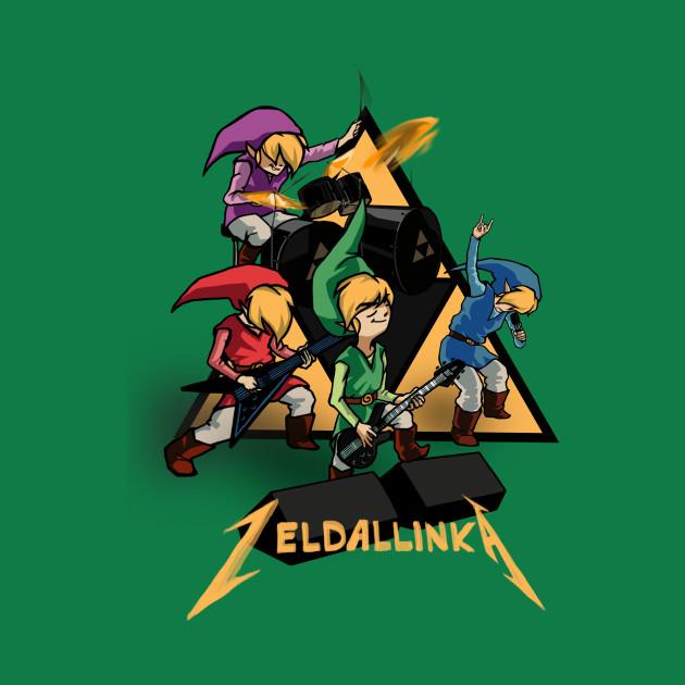 Zeldallinka - Red Blue Green & Purple Link