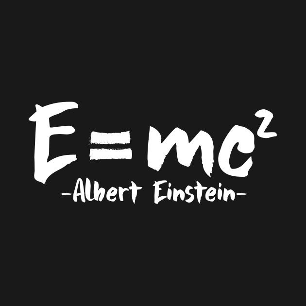 E = mc2 Albert Einstein Formula