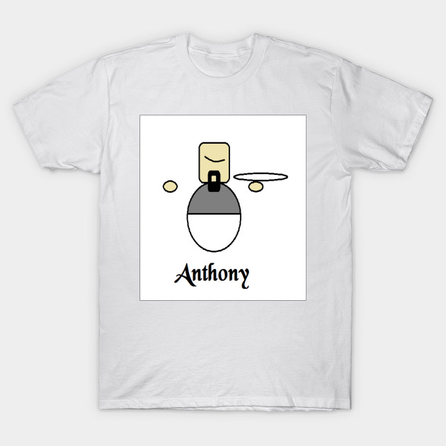 653d9190 Anthony the Philosophy Major Waiter - Atheist Humor - T-Shirt ...