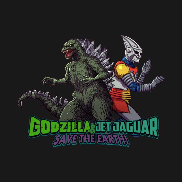 Godzilla & Jet Jaguar