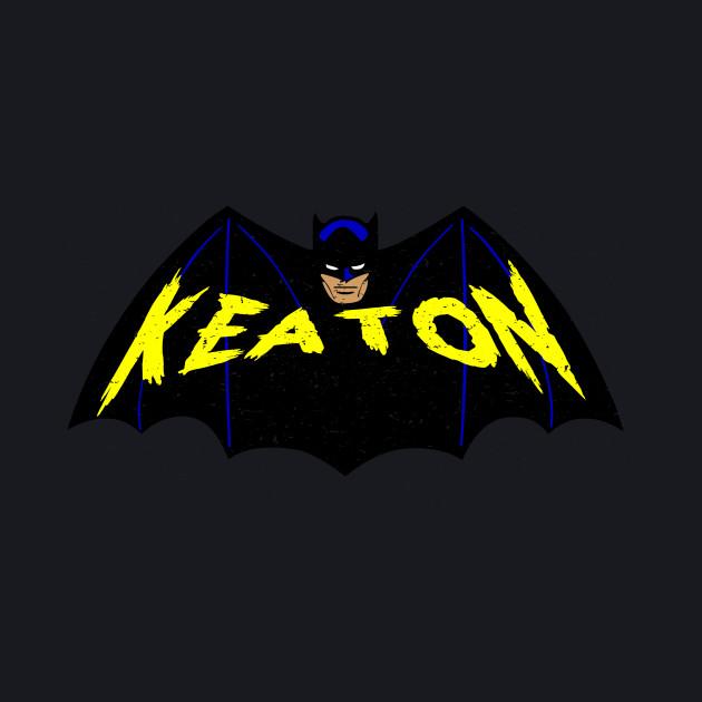 Michael Keaton Bat Logo