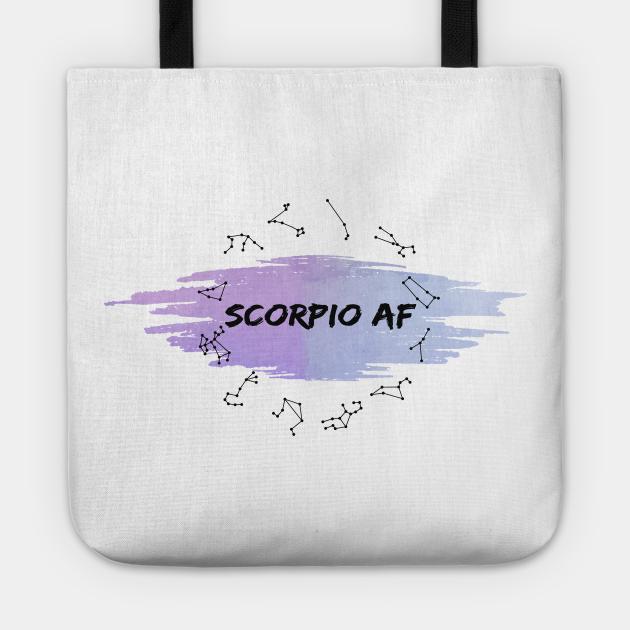Scorpio Af : Spiritual Birth signs