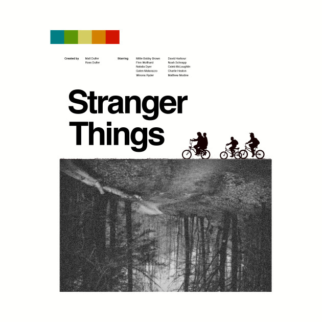 Stranger Things vintage poster