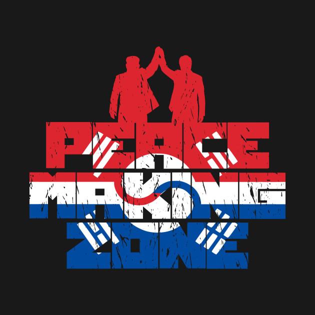 Peace In Korea Flag