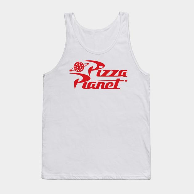 fc66e87c52d9ff Pizza Planet - Story - Tank Top