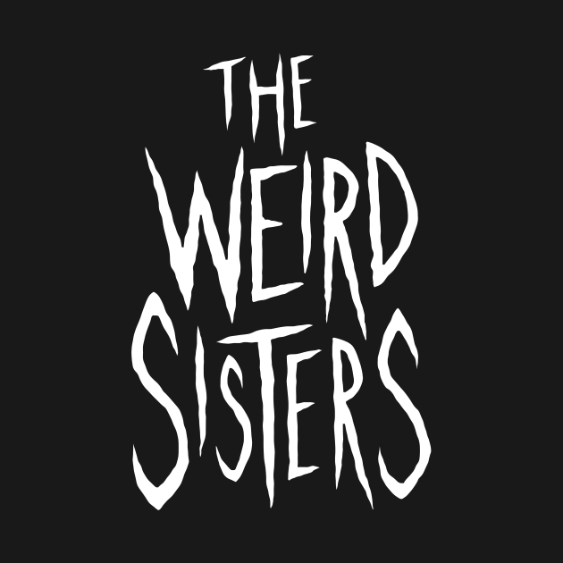 The Weird Sisters band shirt - White