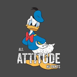 Donald Duck All Attitude No Pants