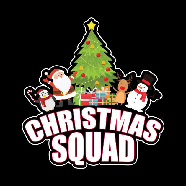 b91321c73 Christmas Squad Family Matching Christmas Holiday Group Christmas Squad  Family Matching Christmas Holiday Group