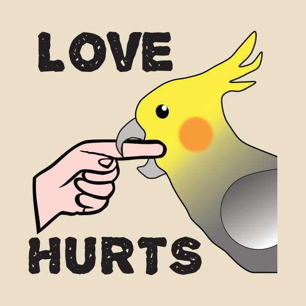 Love Hurts - Cockatiel Male