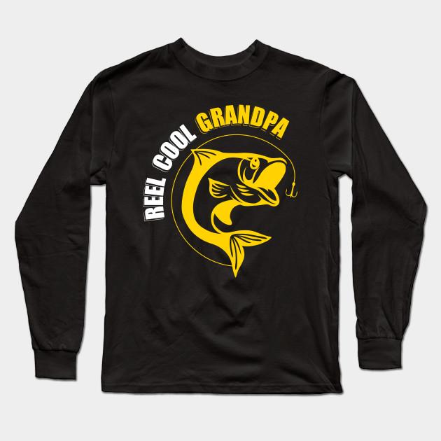 61d67322 Reel cool papa fishing lovers unisex t-shirt, Father's day, fishing grandpa  shirt, gift for grandpa, papa t-shirt Long Sleeve T-Shirt