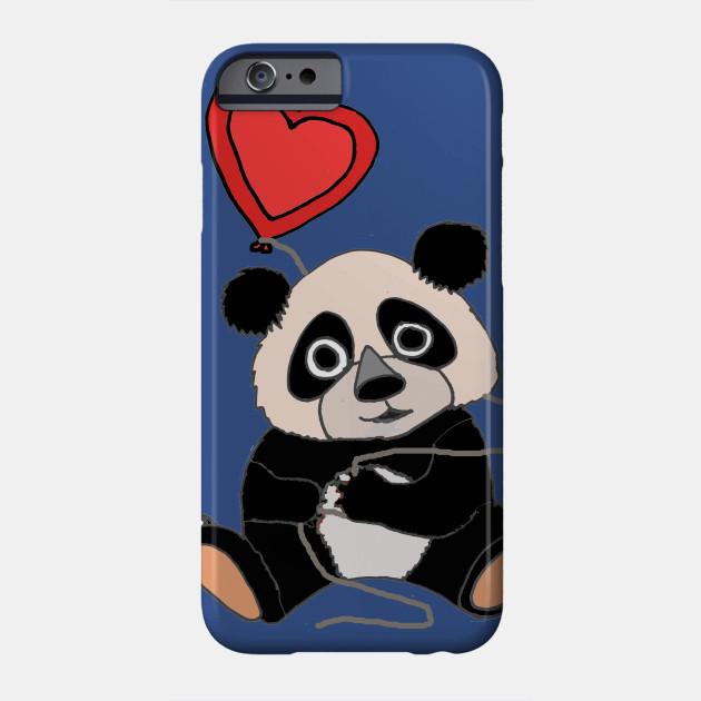 wholesale dealer 78c79 8fc4e Cute Panda Bear with Heart love Balloon