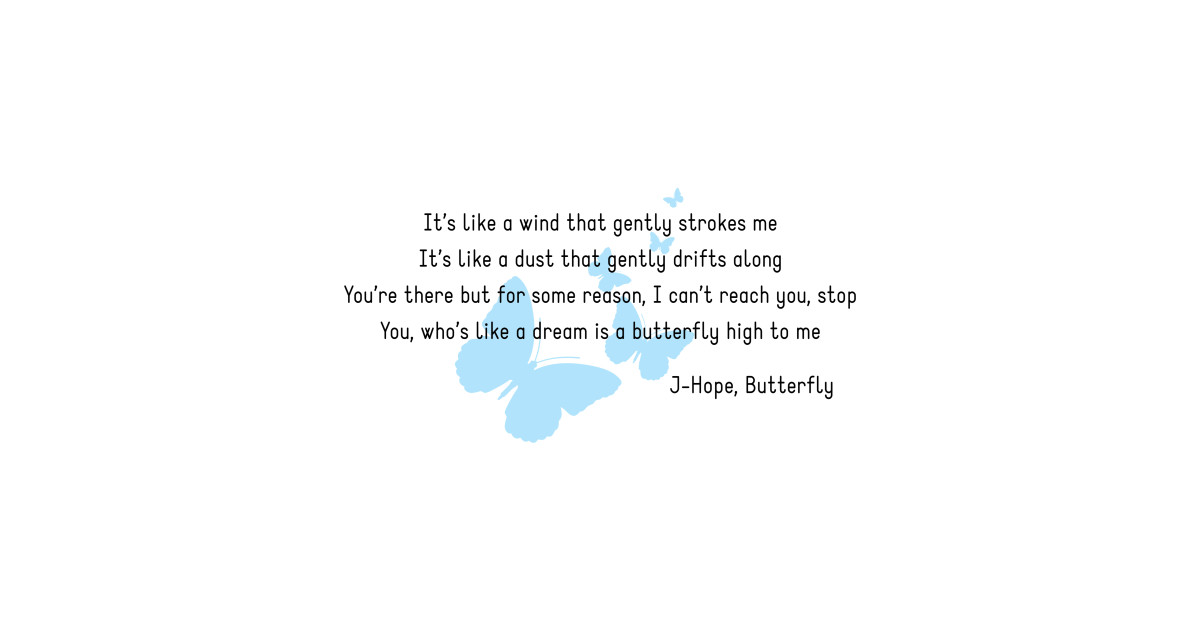 BTS English Lyrics J-Hope Butterfly by kdramaqueen