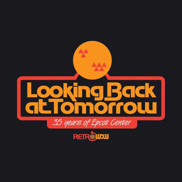 Looking Back at Tomorrow - Red/Orange