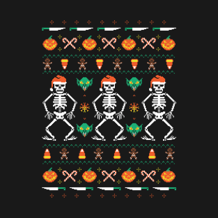 Trick or Christmas t-shirts
