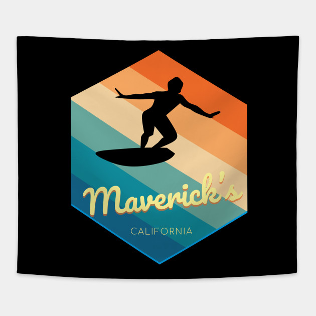 Maverick's California Surfing tshirt