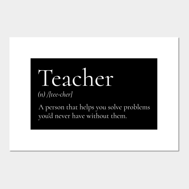 Funny Definition Of A Teacher