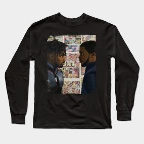cba7be852335d4 Michael B Jordan Long Sleeve T-Shirts