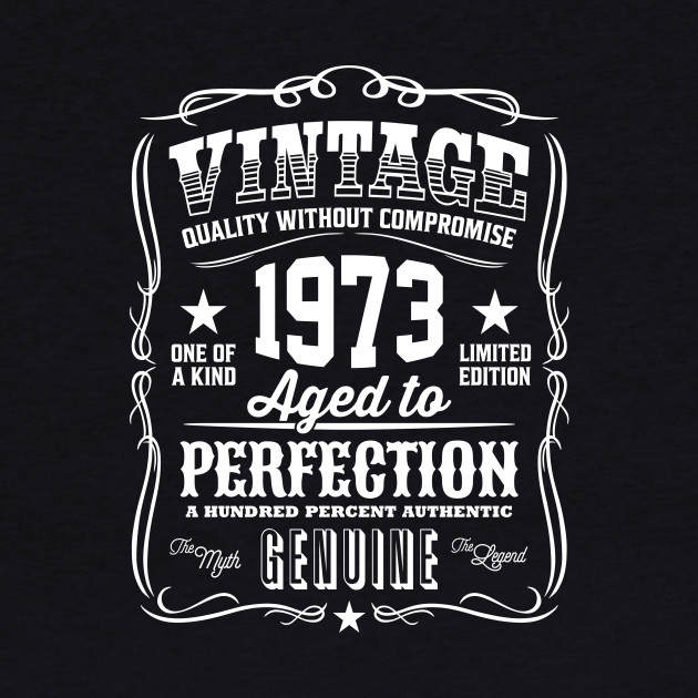 Vintage 1973 Aged to Perfection