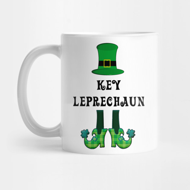 St Patrick's St Paddy's St Patty's Day Key Leprechaun Mug