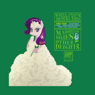 White Filly's Equestria Mares t-shirts