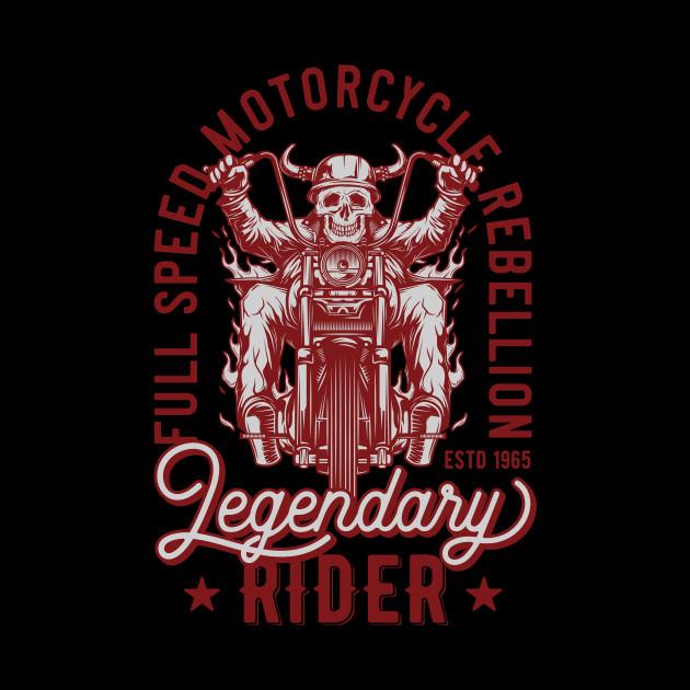 SKULL RIDER MOTORCYCLE RETRO T SHIRT TEE SWEATER HOODIE GIFT PRESENT BIRTHDAY CHRISTMAS