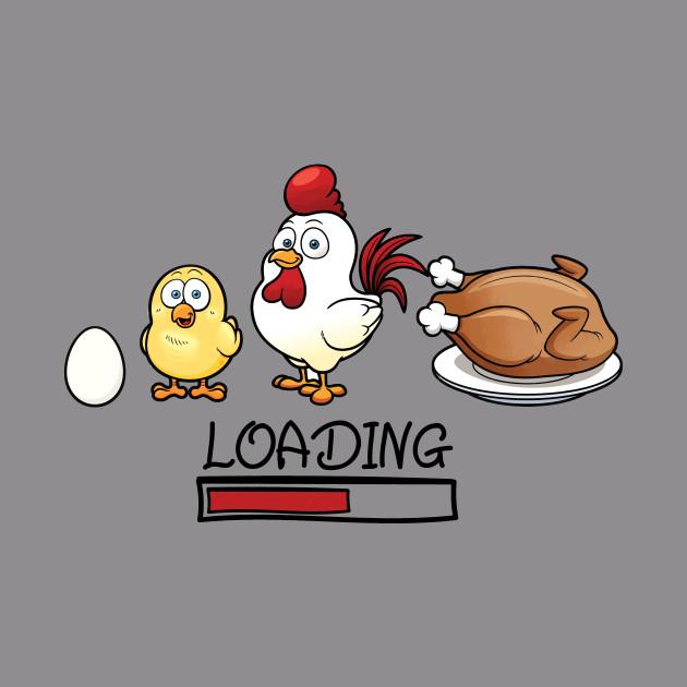 chicken loading