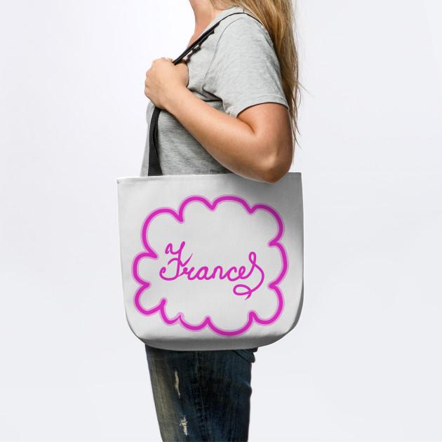 Frances. Female name. - Frances - Tote Bag | TeePublic UK