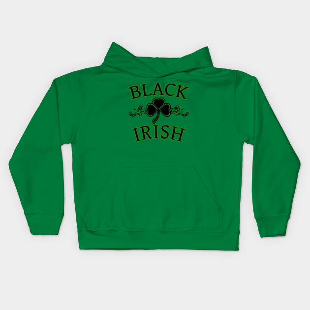 Black Irish with Shamrock Art