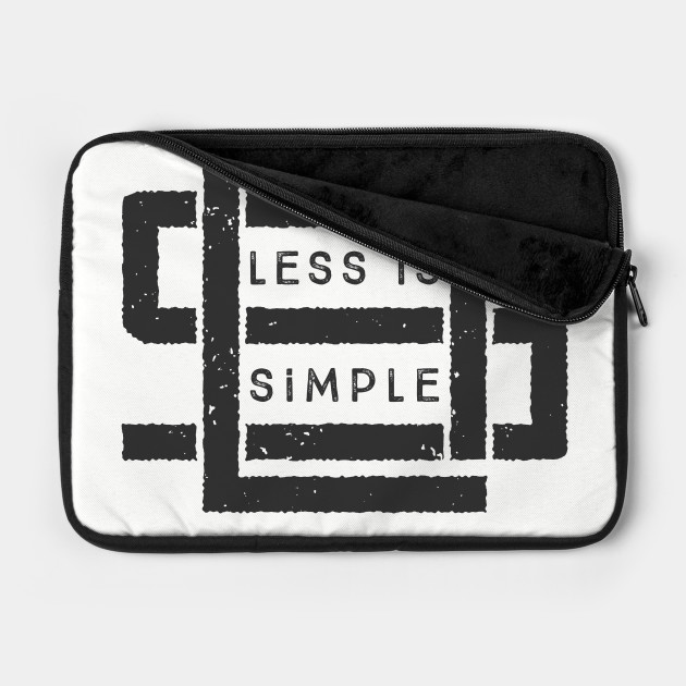 Less is Simple