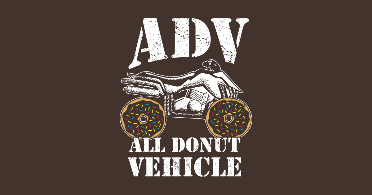 ADV All Donut Vehicle - Donut Quad Bike by propellerhead