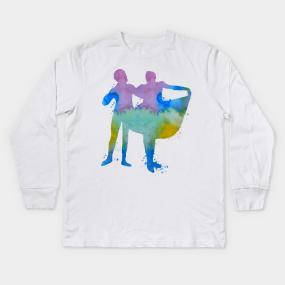 58301354 Ballet Dancer Kids Long Sleeve T-Shirts   TeePublic