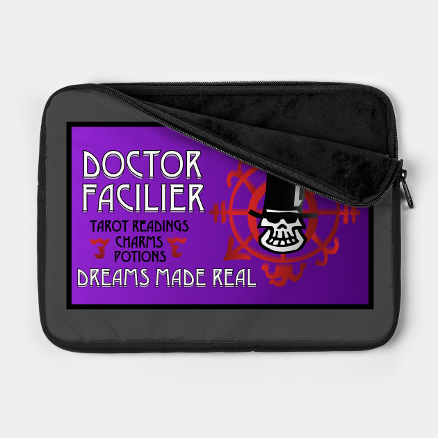 Dr. Facilier Business Card