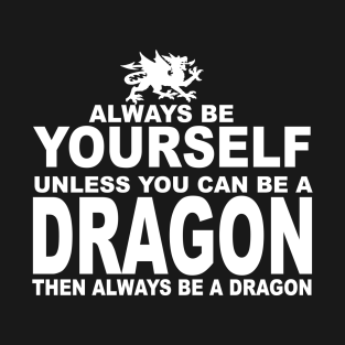 Be a dragon t-shirts