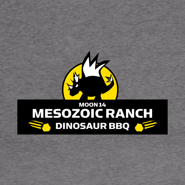 Moon 14 Mesozoic Ranch Dinosaur BBQ