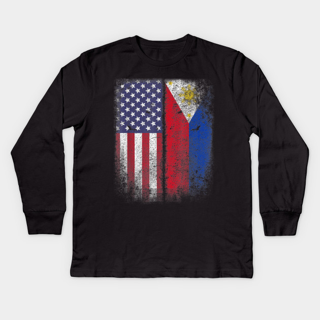 137912b4c5d1a Filipino Roots American Grown Philippines Usa Flag America