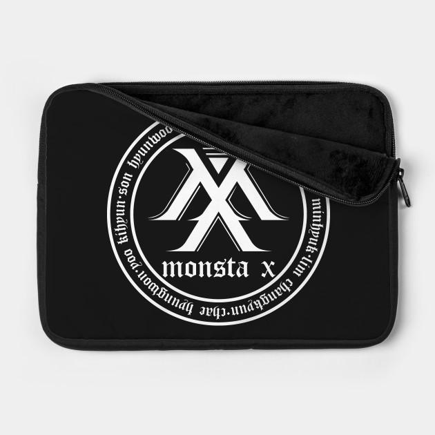 MONSTA X Beautiful World Tour Member Birth Name Logo V2